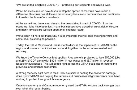 Joint Statement from GTHA Mayors and Chairs_Page_1